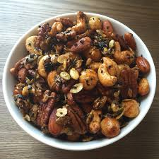 Roasted Unsalted Pumpkin Seeds Nutrition Facts by Themdchef Spicy Rosemary Roasted Nuts With Nigella Seeds