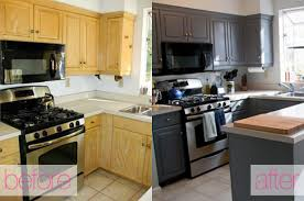 Small Kitchen DIY Ideas Before & After Remodel of Tiny