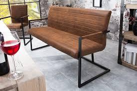 riess ambiente sitzbank loft 160cm vintage braun mit microfaser bezug kaufen otto