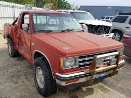 100 1988 Chevy Truck For Sale Chevrolet S S1 For Sale At Copart Gaston SC Lot 55474238