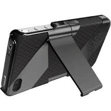 iLuv Fusion Dual Layer Case with Stand for iPhone 4