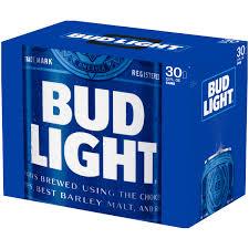 Bud Light Beer 30 pack 12 fl oz Walmart