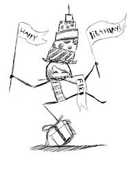 Happy Birthday Cute Drawings