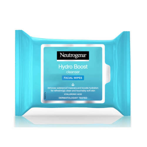 Neutrogena Hydro Boost Cleansing Facial Wipes - 25 Wipes