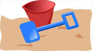 Free Beach Pail Shovel Clipart