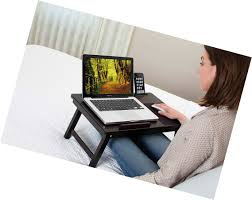 Sofia Sam Lap Desk by Multi Tasking Laptop Bed Tray Lap Desk Supports Laptops Up To 18