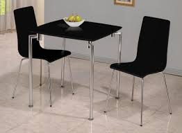 Modern Small Black Rectangle High Gloss & Chrome Dining Table Set ... Grey Glass High Gloss Ding Table And 4 Chairs Set Bar Table And Two High Stool Chairs Modern Design Stock Photo 40 Excellent Two Seater Online Bistro With Stools Fniture Tables On Amelia Twotone Wood Barstools Room Ideas Ikea Small Top Round 84 Off Counter Garden In N21 Ldon For 4000 Sale Shpock With Home Design Modern Extension Tags Ding Bar