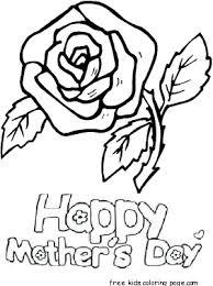 Tags Coloring Pages Fargelegge Tegninger Kids Mazes Mors Dag Mothers Day Preschool Print Out Roses Worksheets