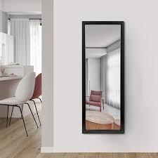 elevensmirror wall mirror wall mount hanging mirror for wall bedroom bathroom living room decor 44 x 16 length door mirror for home decoration