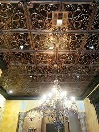 faux tin ceiling tiles m 12纓12 metal home depot