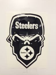 Steelers Pumpkin Carving Patterns Free by Pittsburgh Steelers Skull Decal Free Shipping
