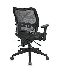Office Star Chairs Amazon by Amazon Com Space Seating Deluxe Airgrid Seat And Back With Dual