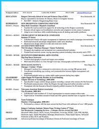 Download Free The Best And Impressive Dance Resume Examples Collections Of For