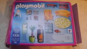 playmobil 5308 wohnzimmer m kamin für wohnhaus dollhouse