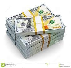 Image result for hundred dollar bills stack