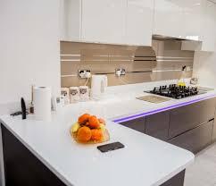 Splash Guard Kitchen Sink by Mirror Stripes Glass Kitchen Splashback By Creoglass Design
