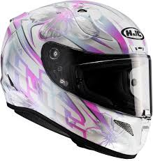 Hjc Cl 17 Chin Curtain by Hjc Cl17 Helmets Hjc Rpha 11 Candra Helmet White Pink Newest