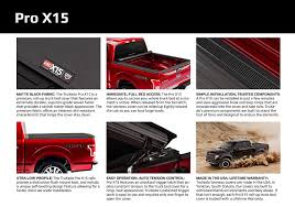 100 Truck Bed Covers Roll Up Amazoncom TruXedo Pro X15 Soft Up Tonneau