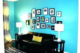 Teal Accent Wall Walls Living Room Turquoise Kitchen Blue Colour Combinations Color Dining
