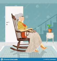 Grandmother Sitting On Rocking Chair Stock Illustration ... Happy Calm African Girl Resting Dreaming Sit In Comfortable Rocking Senior Man Sitting Chair Homely Wooden Cartoon Fniture John F Kennedy Sitting In Rocking Chair Salt And Pepper Woman Sitting Rocking Chair Reading Book Stock Photo Grandmother Her Grandchildren Pensive Lady Image Free Trial Bigstock Photos Hattie Fels Owen A Wicker Emmet Pregnant Young Using Mobile Library Of Rocker Free Stock Png Files