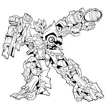 Printable Bumblebee Transformer Coloring Pages Free Transformers For Kids Sheets