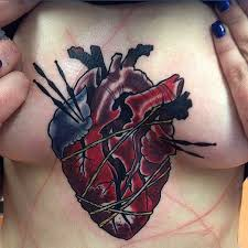 32 Lovable Heart Tattoos Designs