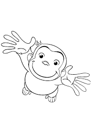 Print Curious George Coloring Pages