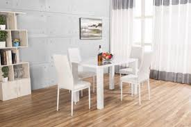 White Dining Table Gloss Tables Amazoncouk
