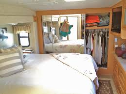 Charming Bedroom Decoration For Rv Remodeling Ideas With White Bedding And Decorative Pillows Area Rug
