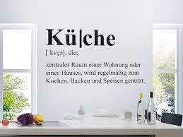 wandtattoo küche definition