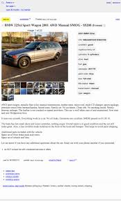 At $5,200, Could This 2001 BMW 325Xi Have Any Miles Left In It? Craigslist Deal Gone Wrong In Central Fresno Abc30com Modesto Fniture Cars By Owner For Sale Under 1000 Cheap Used Ideas On Pinterest Ca And Trucks Vehicles Searched Comment From Kristen H Of Castle Rock At Business Customer Thompson Motor Sales New Utility Cargo Enclosed Trailers Las Vegas And Owners Best Image Truck Chevrolet Dealership Serving Clovis Madera Address Not Disclosed Rent Trulia Ca Texnoklimatcom