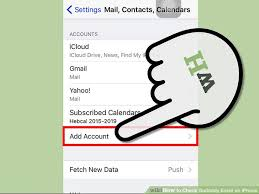 How to Check Godaddy Email on iPhone with wikiHow