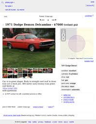 For $7,000, Would You 'Pickup' This Custom 1971 Dodge Dart Demon? 7 Things You Need To Know About Craigslist Austin Webtruck Jill Miller Shuts Down Personals Section After Congress Passes Bill Taylor Pittsburgh El Paso Tx Free Stuff New Car Reviews And Specs 2019 20 Home Brunos Powersports Chevrolet Tom Henry In Bakerstown Near Butler Pa Wright Buick Gmc Of Wexford Proudly Serving 1999 Dodge Ram 2500 Truck For Sale Nationwide Autotrader Vlog First Time At The Auto Auction Youtube