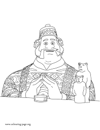 Coloring Page Frozen Animation Movies 51