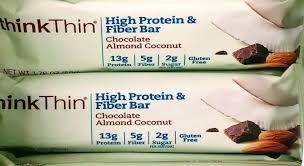 Which ThinkThin High Protein Bar Is Healthiest 1 2