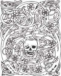 Free Adult Halloween Coloring Pages Kids In