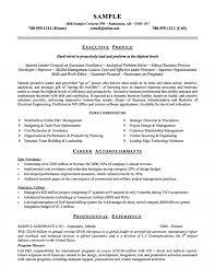 Aerospace Airline Executive Resume