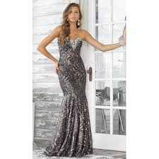 Beautiful Outfits Of The Latest Sequin Evening Dresses What