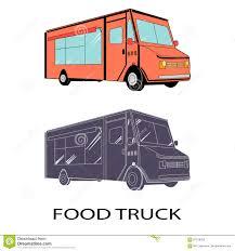 100 Truck Logos VECTOR Food Truck Stock Vector Illustration Of Colourful 87519703