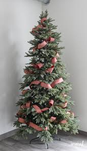 How To Christmas Tree Ribbon