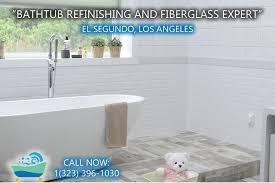 el segundo bathtub refinishing and fiberglass expert
