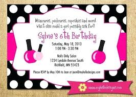 Pamper Party Invite Spa Birthday Invitations Free Printable Princess Invitation Template