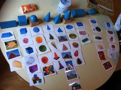 Geometric Solids My Montessori Preschool Maths