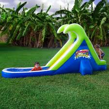 Tropical Splash Inflatable Water Slide By Blast Zone Water Park Inflatable Games Backyard Slides Toys Outdoor Play Yard Backyard Shark Inflatable Water Slide Swimming Pool Backyards Trendy Slide Pool Kids Fun Splash Bounce Banzai Lazy River Adventure Waterslide Giant Slip N Party Speed Blast Picture On Marvellous Rainforest Rapids House With By Zone Adult Suppliers