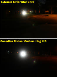 comparing the sylvania silver ultra to hid