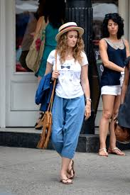 what shoes to wear with capris and cropped pants style wile