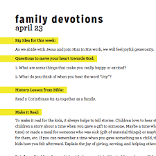 MOVE Family Devo Week 3