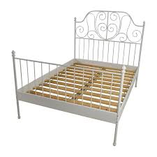 74% OFF IKEA Ikea Leirvik Full Size Bed Frame Beds