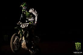 Black Motocross Monster Energy Wallpaper