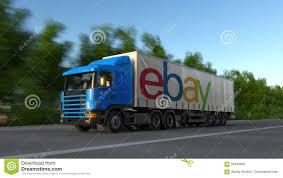 Freight Semi Truck With EBay Inc. Logo Driving Along Forest Road ... Led Headlights Headlamps Black For Kenworth T2000 Semitruck Ebay Ho 187 Promotex 15237 Dual Axle White Commander Day Tractor Semi Tamiya 114 Mercedesbenz Actros 3363 6x4 Gigaspace Kit 1956 Tonka State Hiway Custom Tandem Truck And Goose Neck Find Ram 2500 Hauler Shipping Rates Services Uship Scale Floridas Best Oj Tank Trailer 25000 Model Power This 1974 Dodge Big Horn Is A Very Rare 1968 Chevy Motors Hot Rod Van Build Network 1984 Peterbilt 359 Toter And Vehicle First Gear 1 34 Mack R Us Postal Service Legends Of The West Index Imagesebay